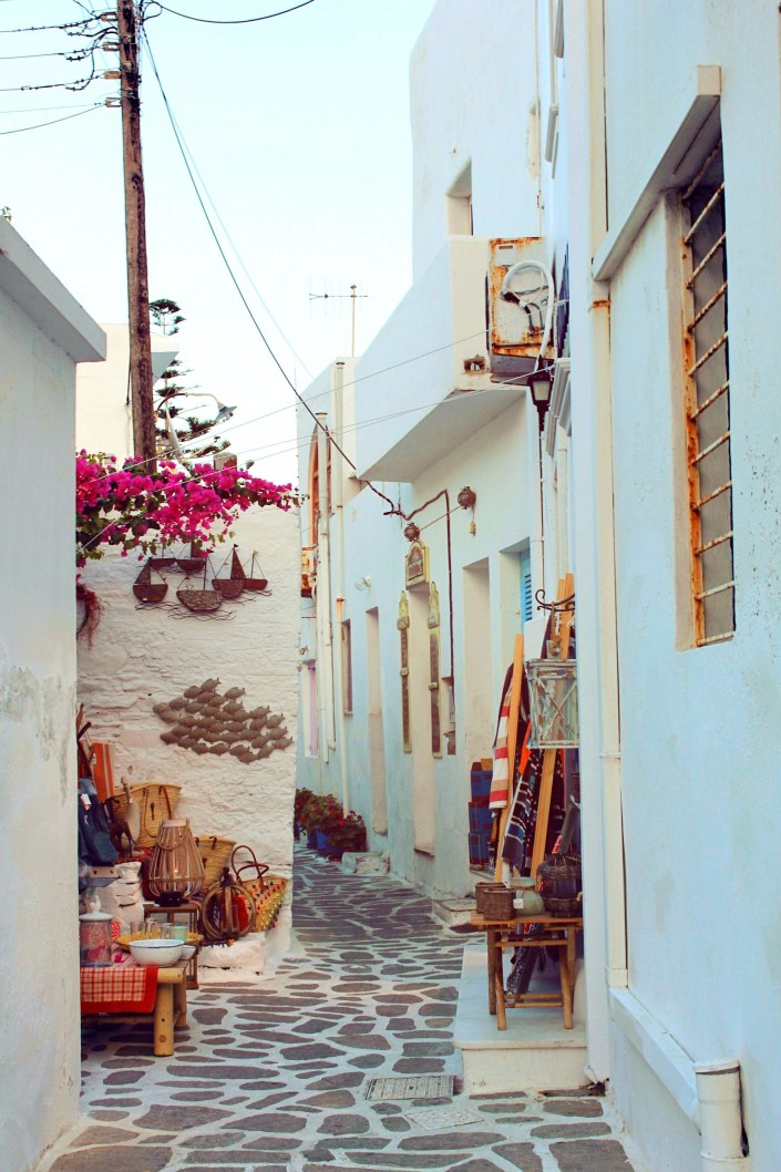 old streets of naoussa