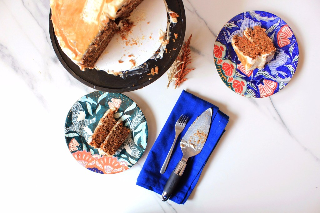 bourbon caramel carrot cake recipe