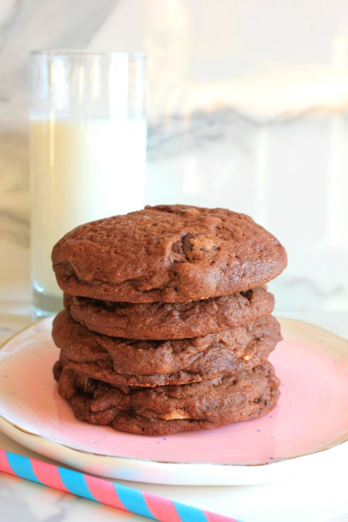 double chocolate chip cookies recipe