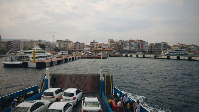 Débarquement à Canakkale