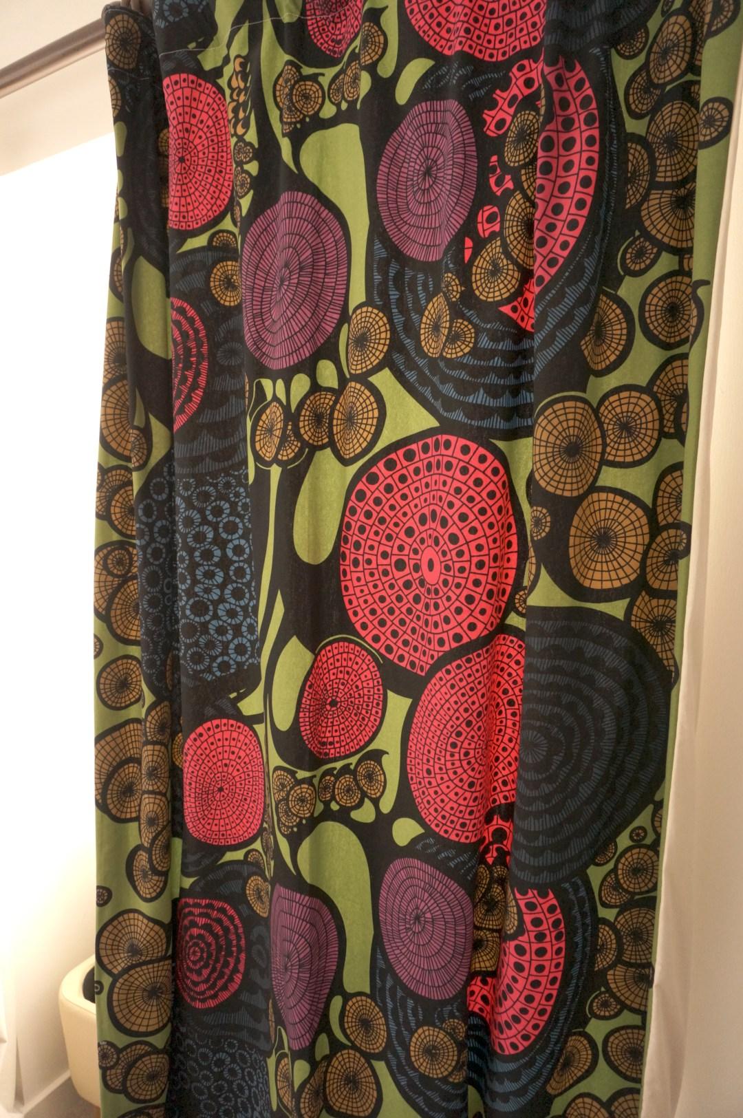 Ikea Coloured Curtains