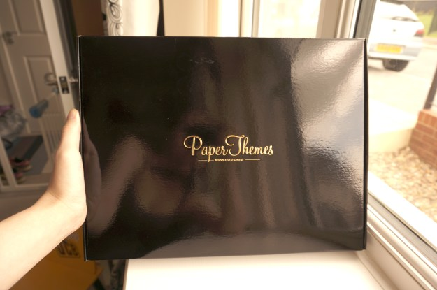 Paper Themes Wedding Planner Box