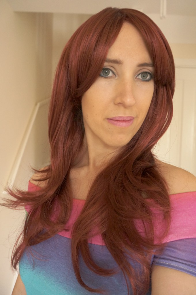 Wonderland Wigs Cassy Red Wig Review