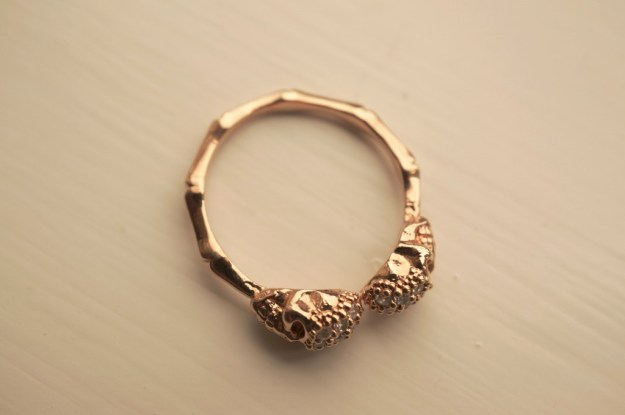 rosy rock ring