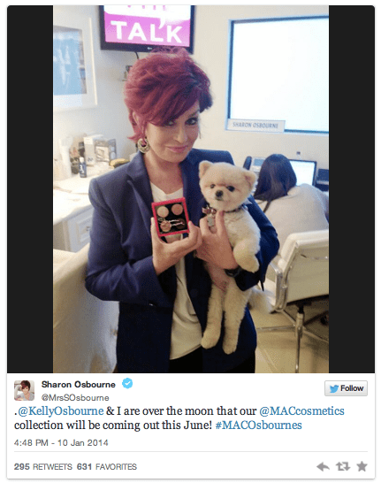 Sharon & Kelly Osbourne MAC Collection 2014 Confirmed!