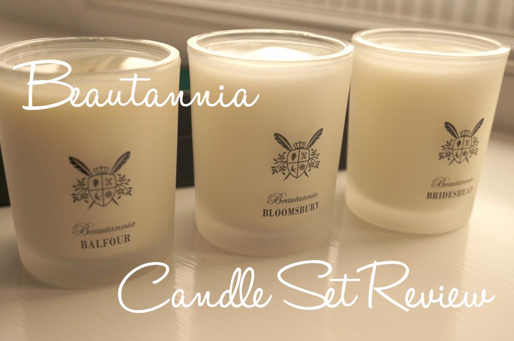 Beautannia Scents & Sensibilities Candles Set Review