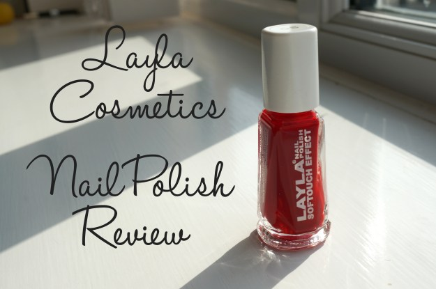 layla red nail polish