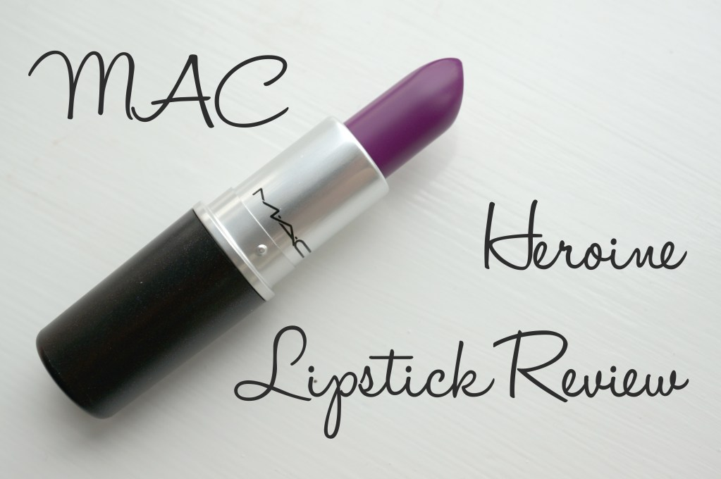 MAC Heroine Lipstick Review and Swatches