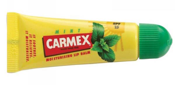 carmex mint tube
