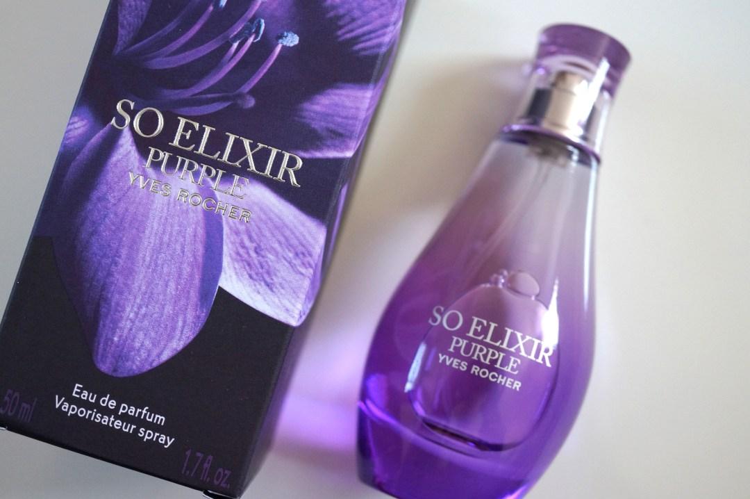 yves rocher purple perfume
