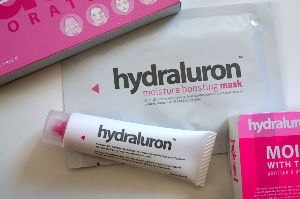 Hydraluron Moisture Booster Serum & Mask   Review