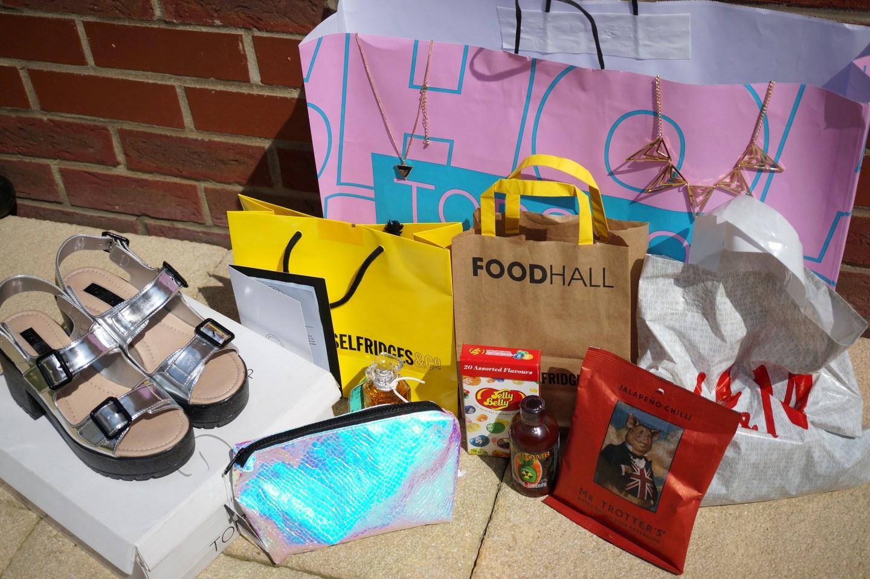 london shopping haul