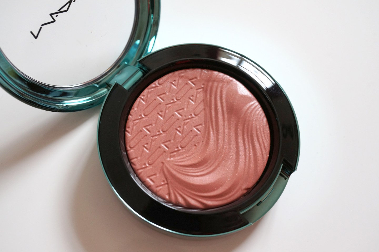mac seduced at sea blush review