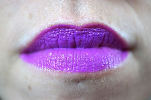 bright-purple-lipstick
