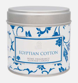 egyptian cotton candle
