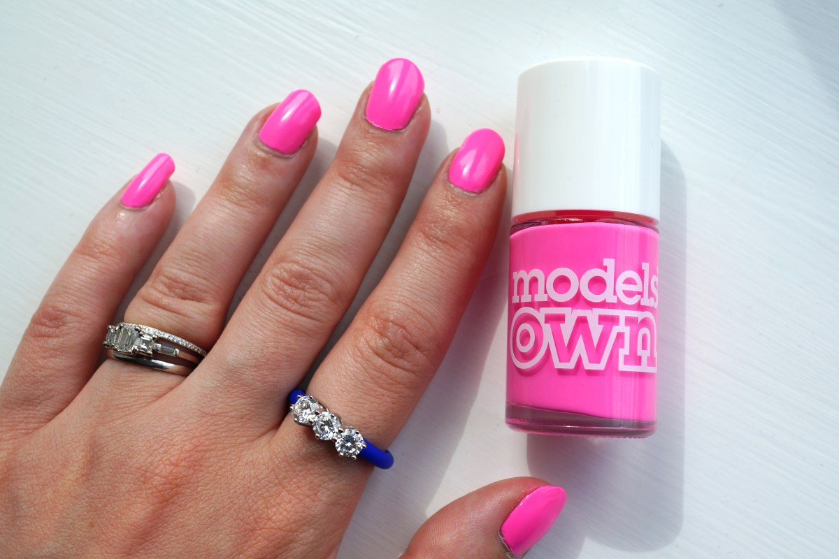 Models Own Sun Hat Neon Nail Polish & 2emme Ring | Review - Thou ...