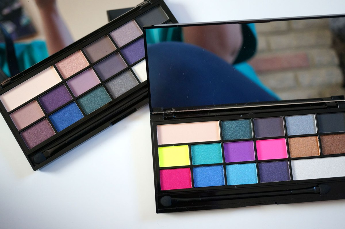 I Heart Makeup NEW Palettes! Sin vs Passion | Review