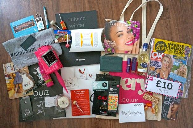 bloggersfestival-goody-bags
