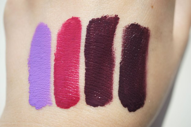 makeup-revolution-lacquer-swatches