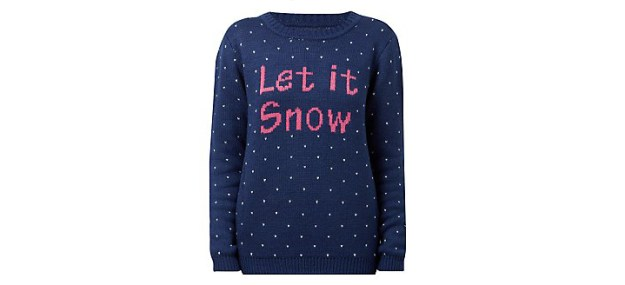 christmas jumper let it snow