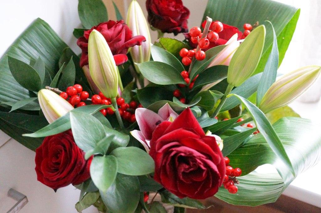 Debenhams Christmas Floral Bouquet & Offer!