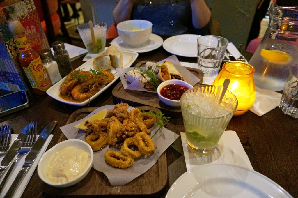 Wednesday Night at Las Iguanas Norwich…