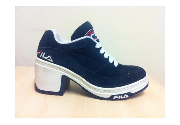 90s fila heels