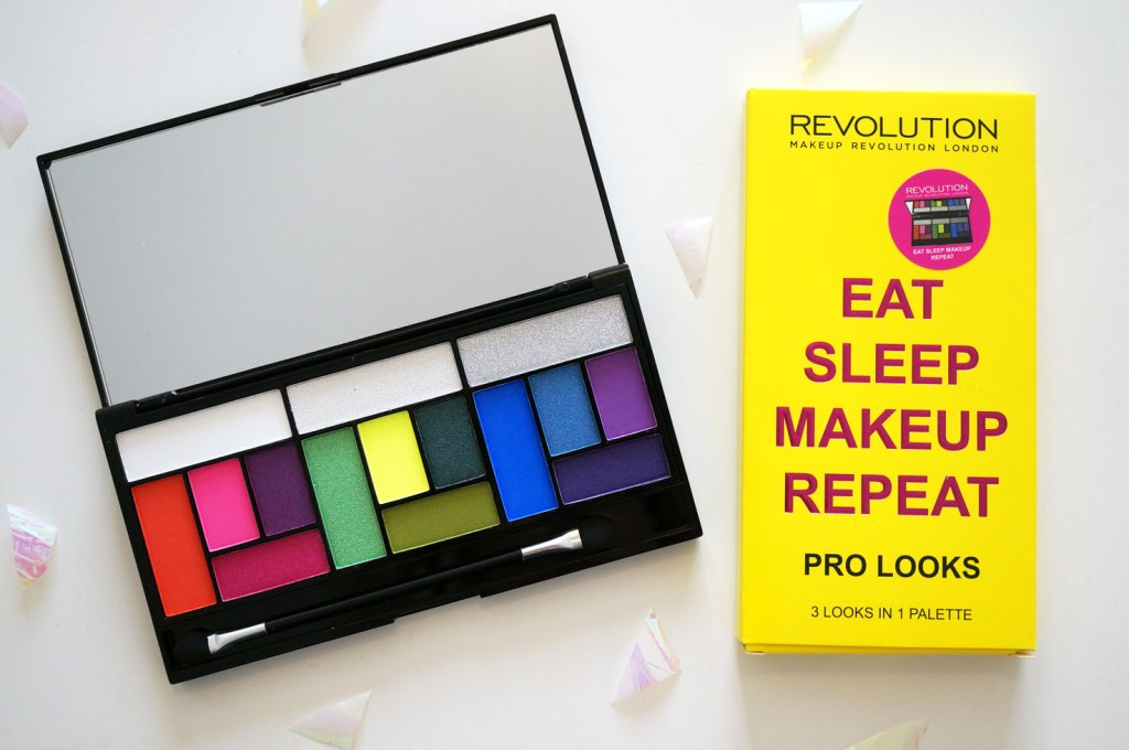 NEW Makeup Revolution Eat Sleep Makeup Repeat Palette