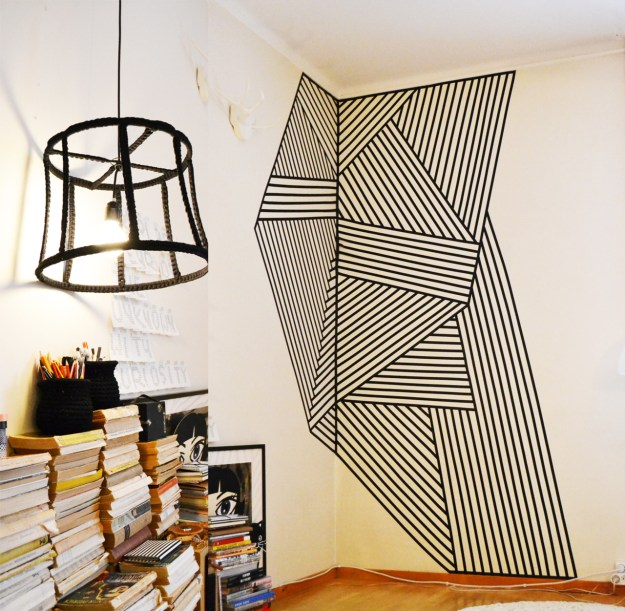 washi tape art