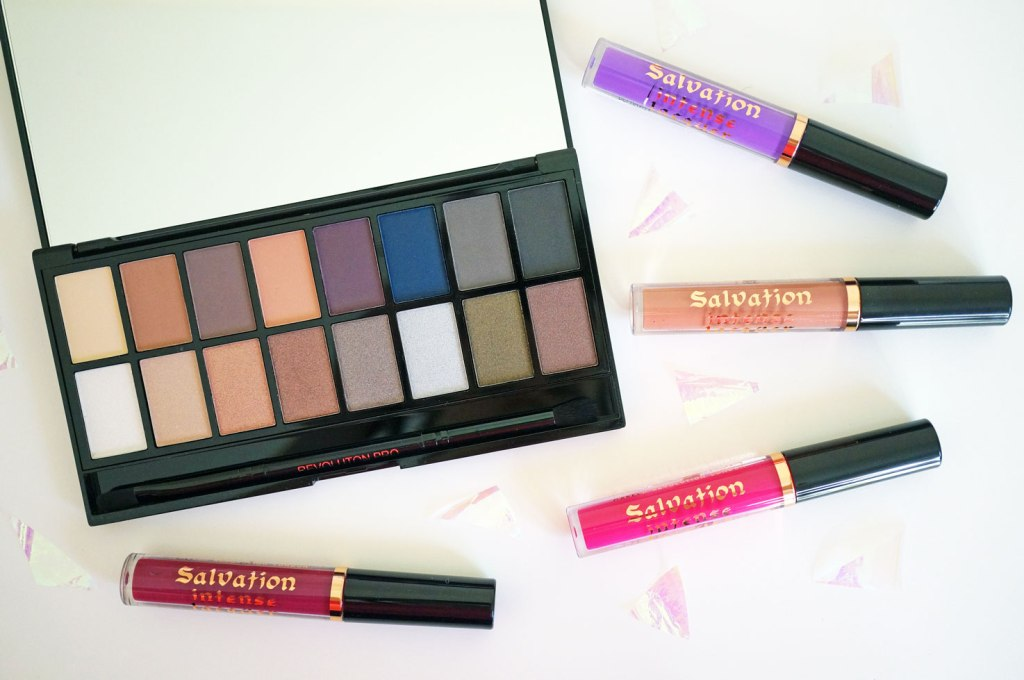 NEW Makeup Revolution Iconic Pro 2 Palette & Salvation Lip Lacquer Shades
