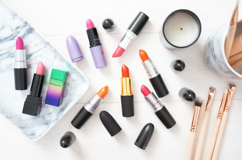 My MAC Lipstick Collection – The Brights