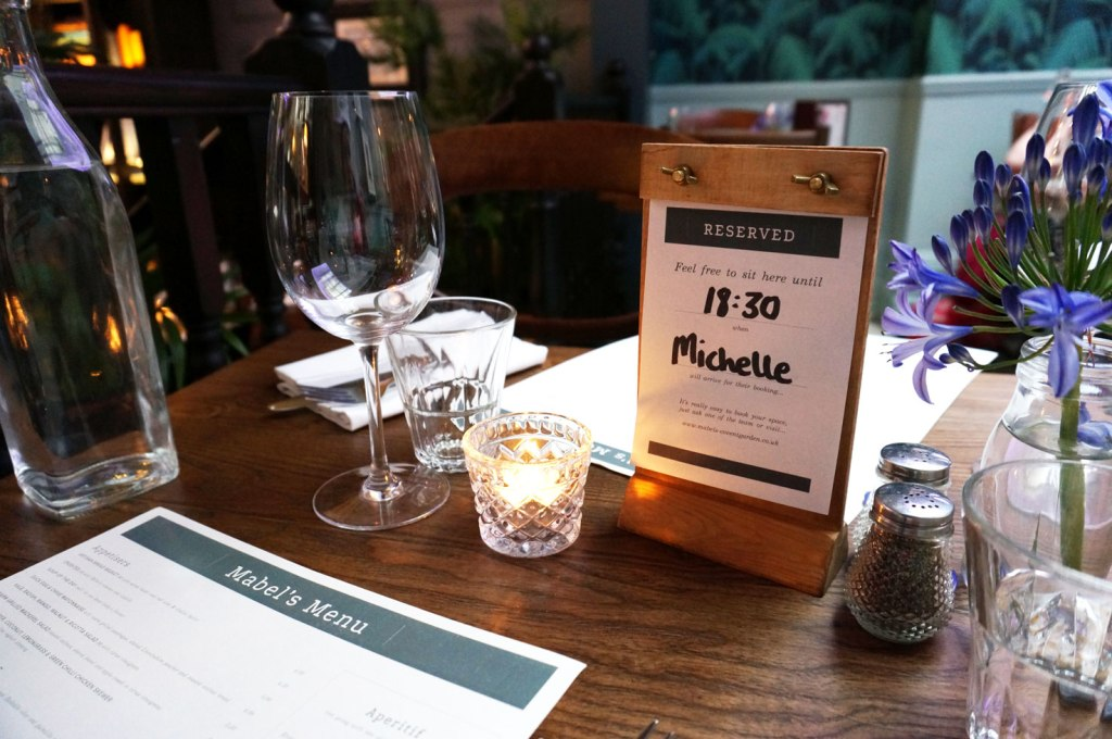 Restaurant Review: Mabel's Bar & Kitchen, Covent Garden, London