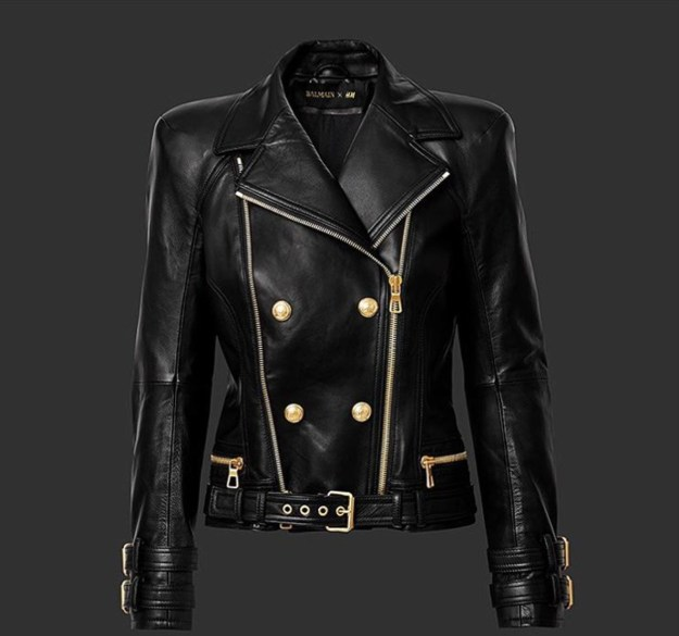 hm-balmain-black-leather-jacket