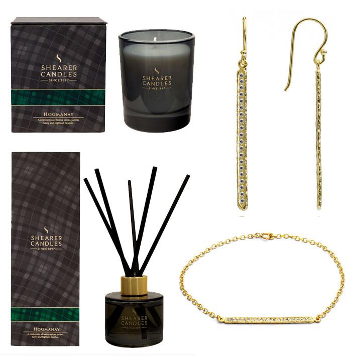 TSNC Big Advent Calendar Giveaway: Day 3 – Azuni London Jewellery & Shearer Candles