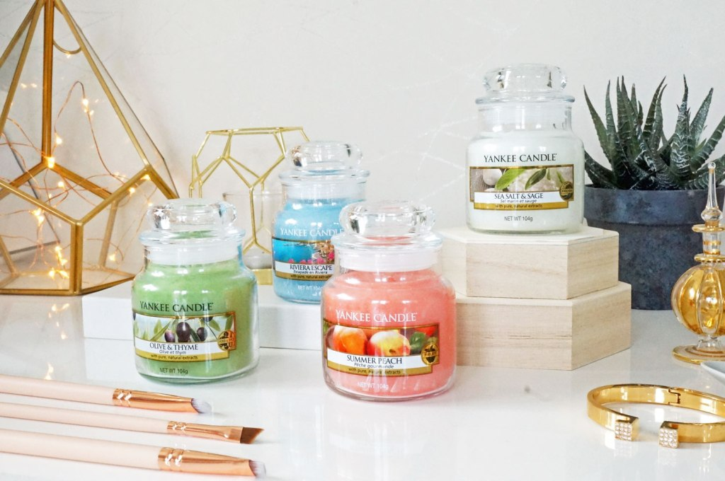 Yankee Candle Riviera Escape Collection