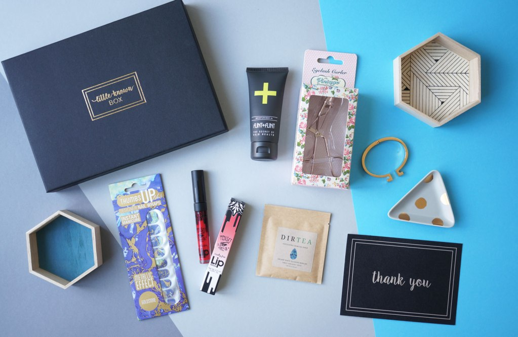 The New Beauty Subscription Box – Little Known Box
