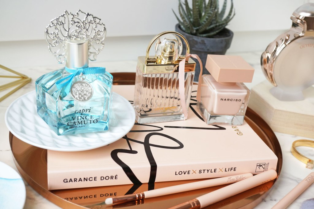 The Prettiest Fragrances for your Dressing Table