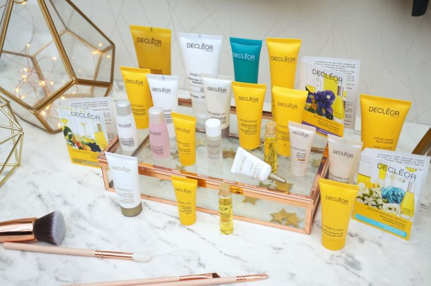 decleor-advent-calendar-products-review