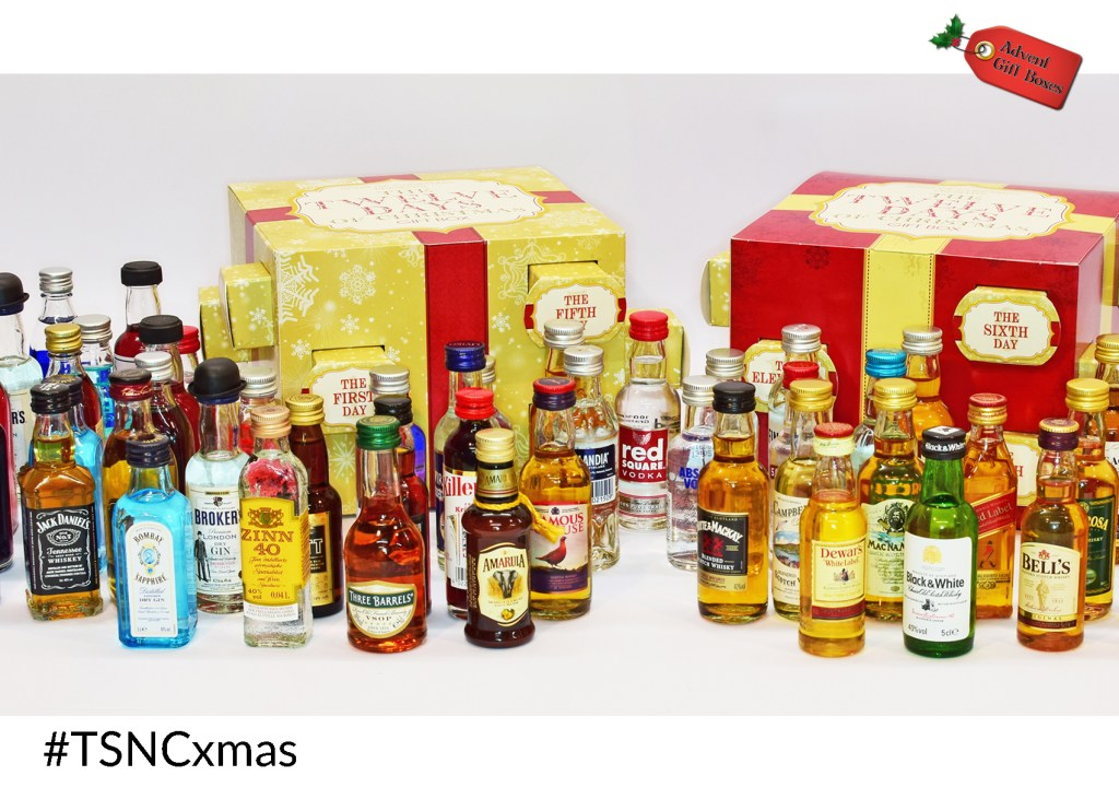TSNC Advent Giveaway: 12 Days of Christmas Alcohol Gift Box!