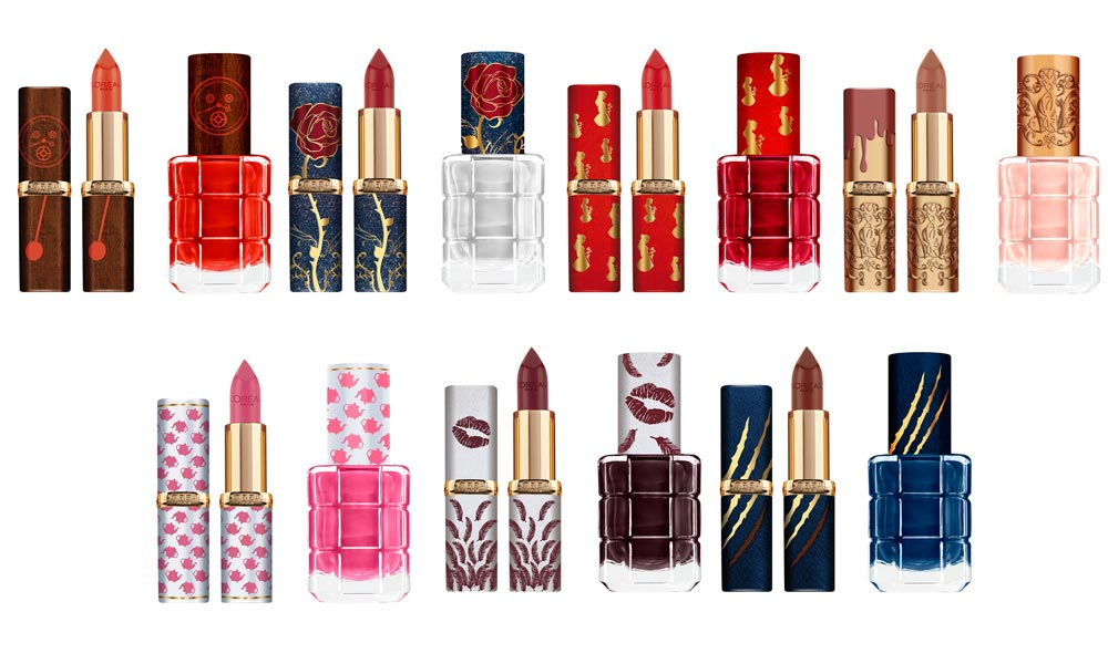 Beauty News: L'Oreal Paris X Disney Beauty and the Beast Collection!