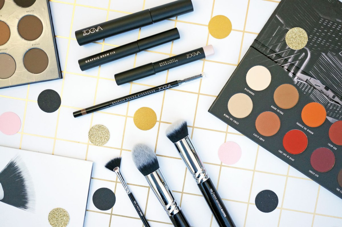 Beauty: New Zoeva Palettes, Brushes & Brow Products