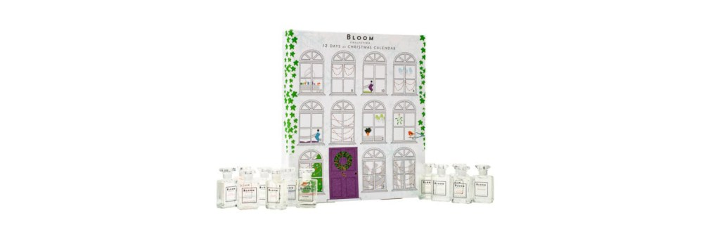 Superdrug Bloom 12 Days of Christmas EDT advent calendar 2017 tsncblog