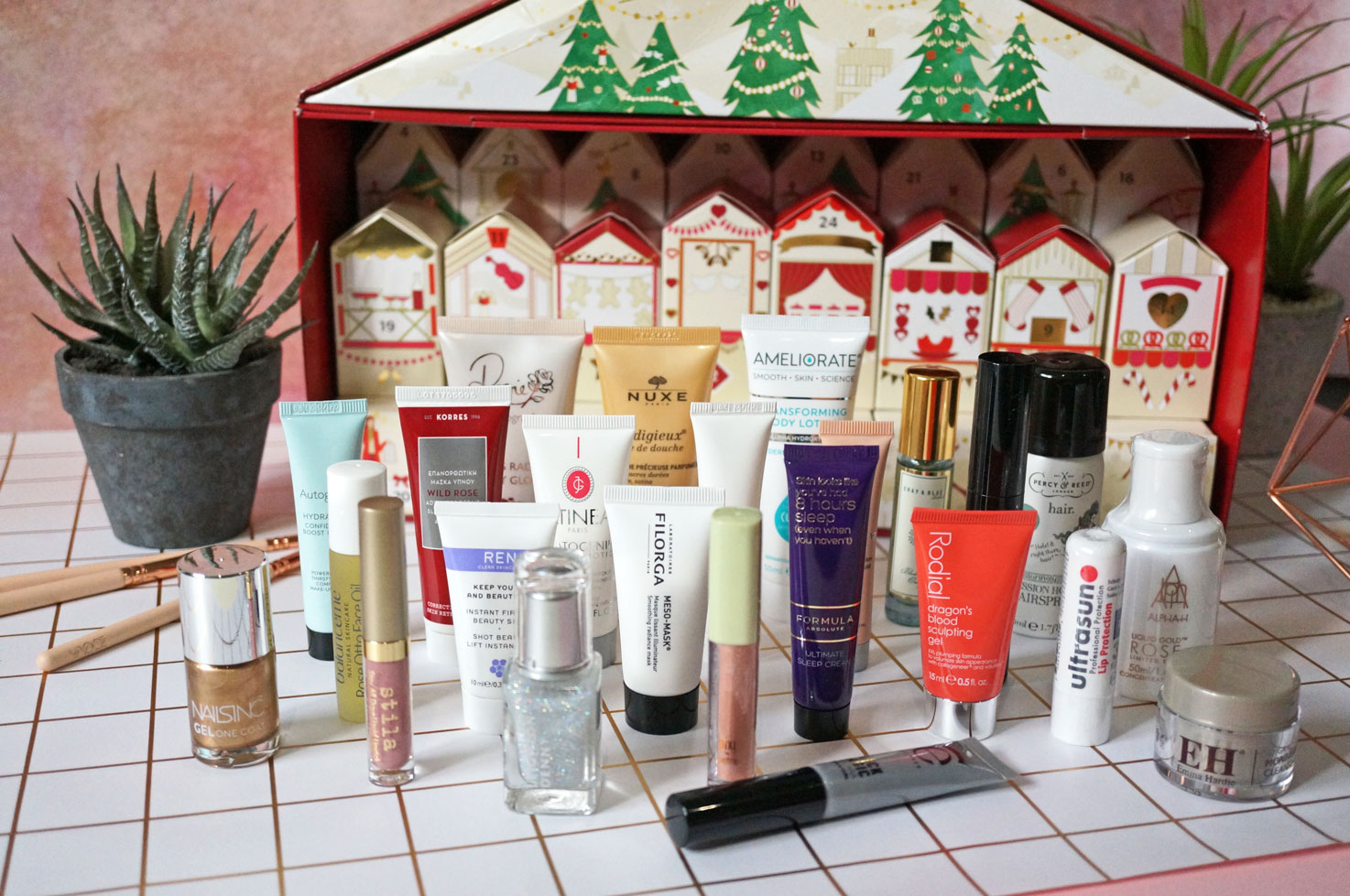 Christmas: M&S Beauty Advent Calendar SPOILER!
