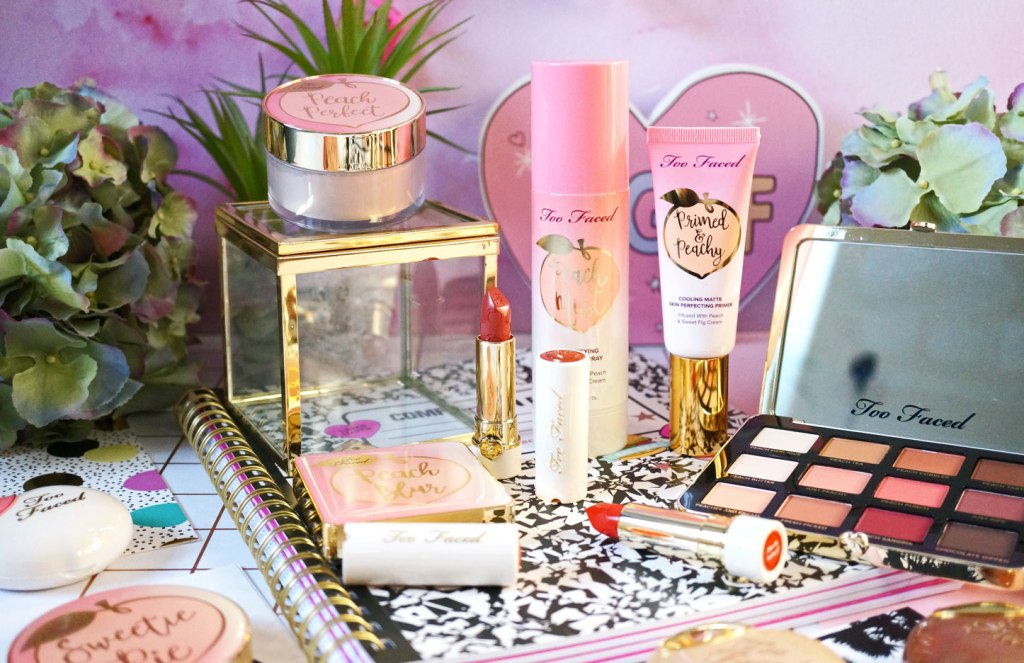 Beauty: Too Faced Peaches & Cream Collection