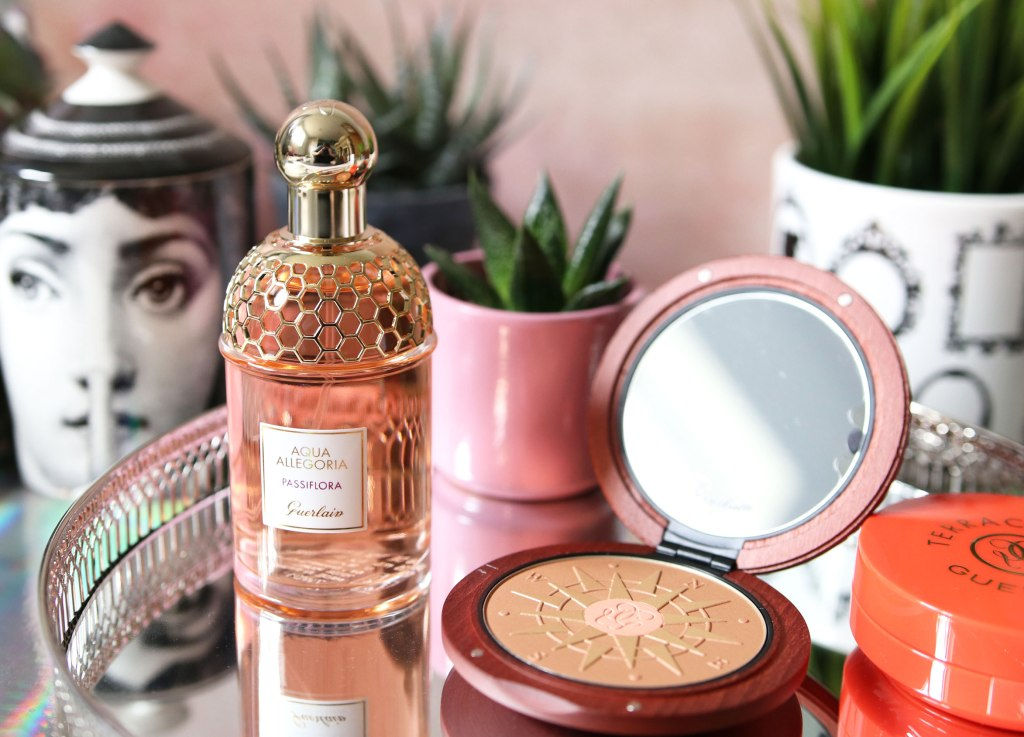 Guerlain Terracotta Summer Escape 2018 & Aqua Allegoria Passiflora Fragrance