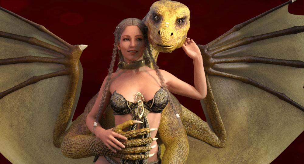 Treacherous a Dragon's Love