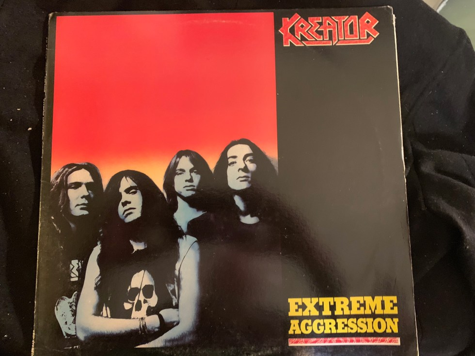 """Kreator """"Extreme Aggression"""" 1989 - Epic First Major Label Release"""