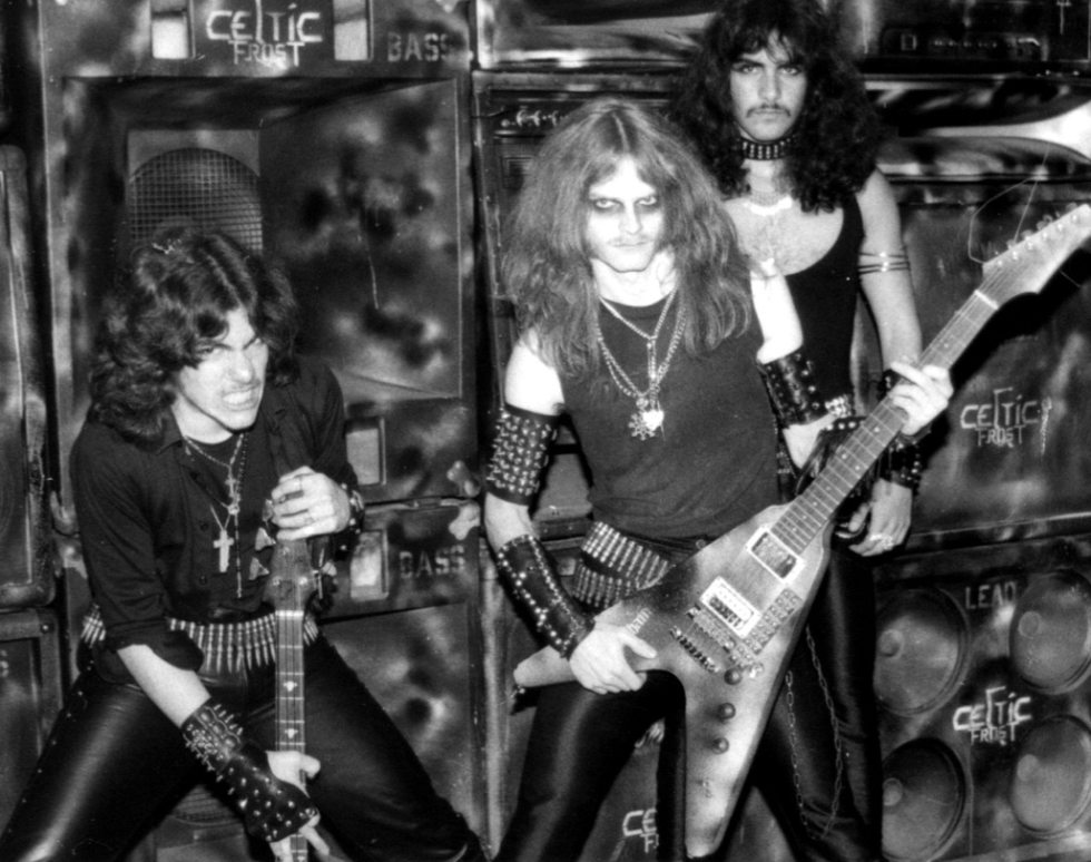 live pic - Celtic Frost morbid tales band photo