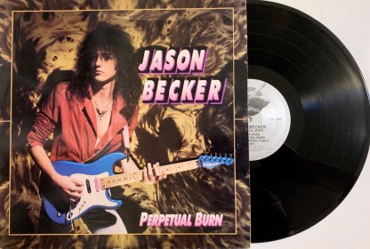 Jason Becker - Perpetual Burn 1988 Vinyl