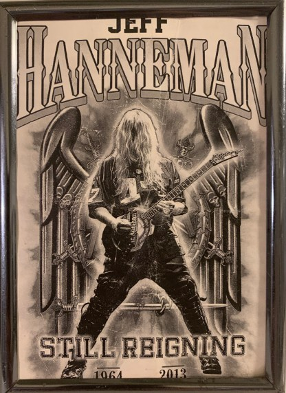 """Jeff Hanneman """"Still Reigning"""" Picture Frame Test Run Is Now Available!"""
